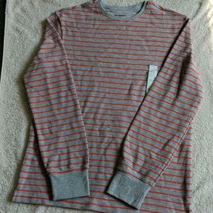 🌎 NWT Goodfellow & Co. Striped Long Sleeve Shirt
